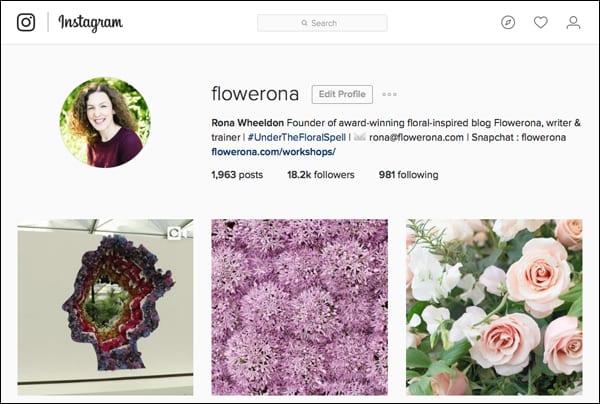 Flowerona-Instagram
