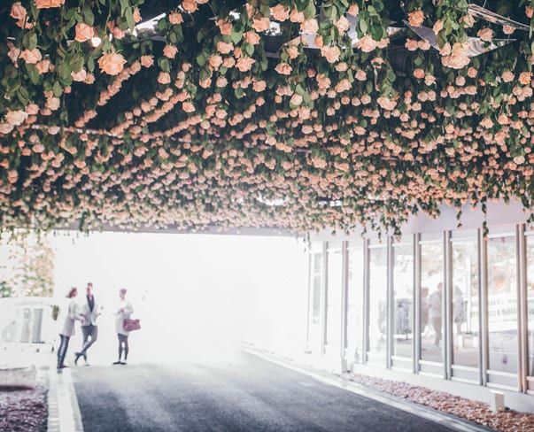 RHS Chelsea Flower Show 2016   Floral Installation by Joseph Massie – Rosa