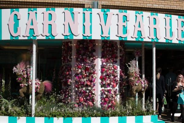 Liz Earle Chelsea in Bloom 2016 Carnivearle Flowerona-1