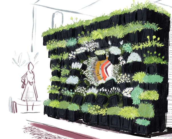 Florist Friday : New Covent Garden Flower Market's Debut Exhibit at the RHS Chelsea Flower Show