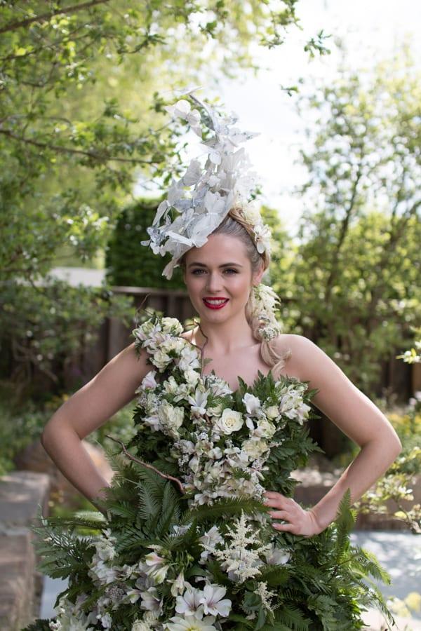 RHS Chelsea Flower Show 2016 Floral Dress Larry Walshe M&G Show Garden Flowerona-5