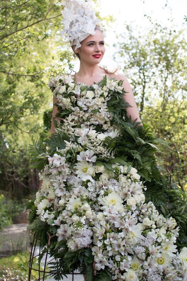 RHS Chelsea Flower Show 2016 Floral Dress Larry Walshe M&G Show Garden Flowerona-77