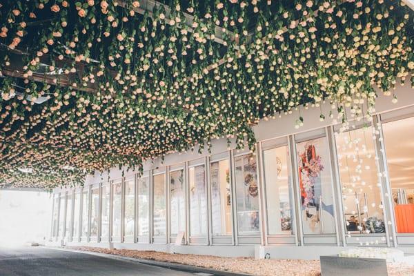 RHS-Chelsea-Flower-Show-2016-Floral-Installation-by-Joseph-Massie-Rosa-Flowerona-2