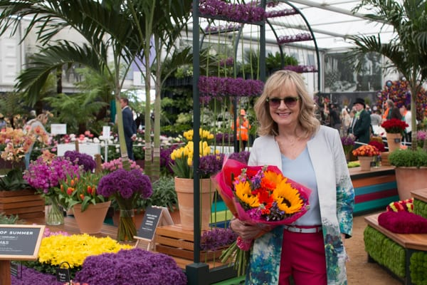 RHS Chelsea Flower Show 2016 M&S Marks & Spencer Spirit of Summer Twiggy Flowerona-1