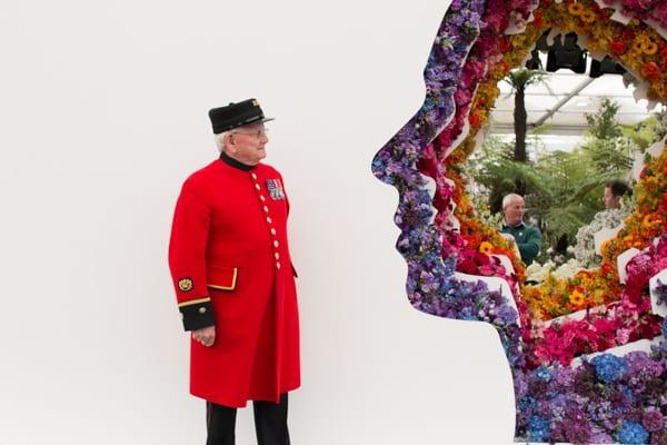 RHS Chelsea Flower Show 2016 New Covent Garden Flower Market Exhibit Flowerona-14