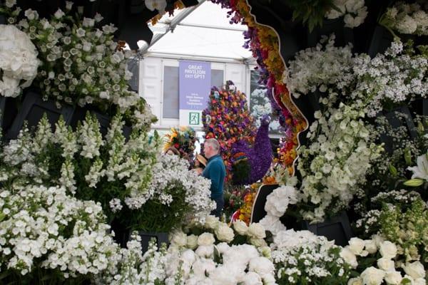 RHS Chelsea Flower Show 2016 New Covent Garden Flower Market Exhibit Flowerona-16