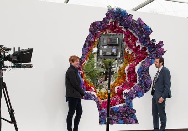 RHS Chelsea Flower Show 2016 New Covent Garden Flower Market Exhibit Flowerona-50