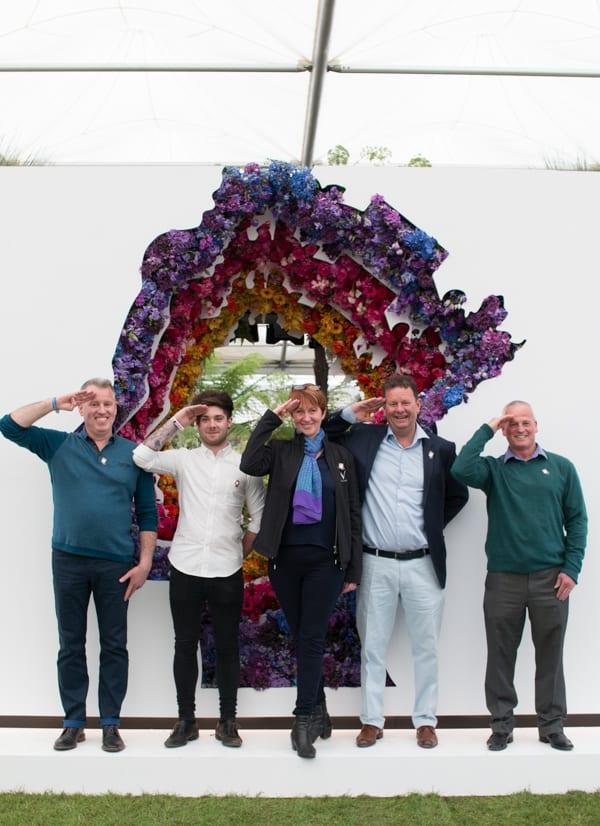 RHS Chelsea Flower Show 2016 New Covent Garden Flower Market Exhibit Flowerona-62