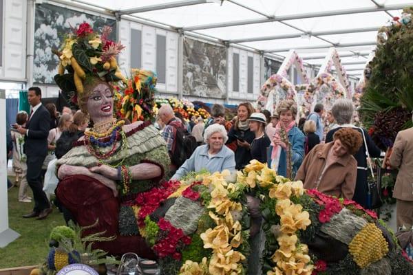 RHS Chelsea Flower Show 2016 RHS Chelsea Floristry College of the Year Bath College Flowerona-11