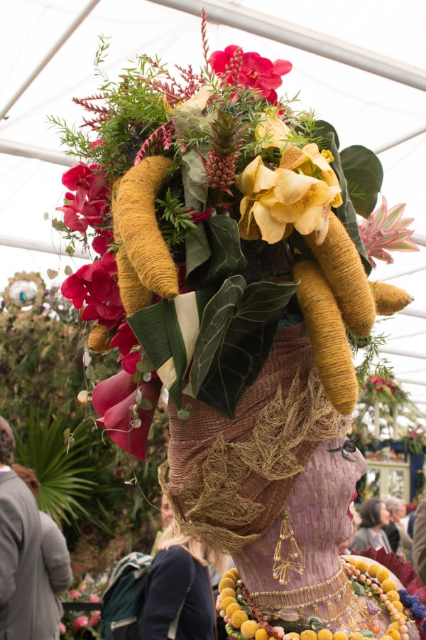 RHS Chelsea Flower Show 2016 RHS Chelsea Floristry College of the Year Bath College Flowerona-7