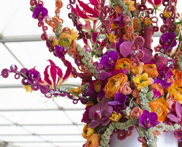 RHS Chelsea Flower Show 2016 | RHS Young Chelsea Florist of the Year Competition