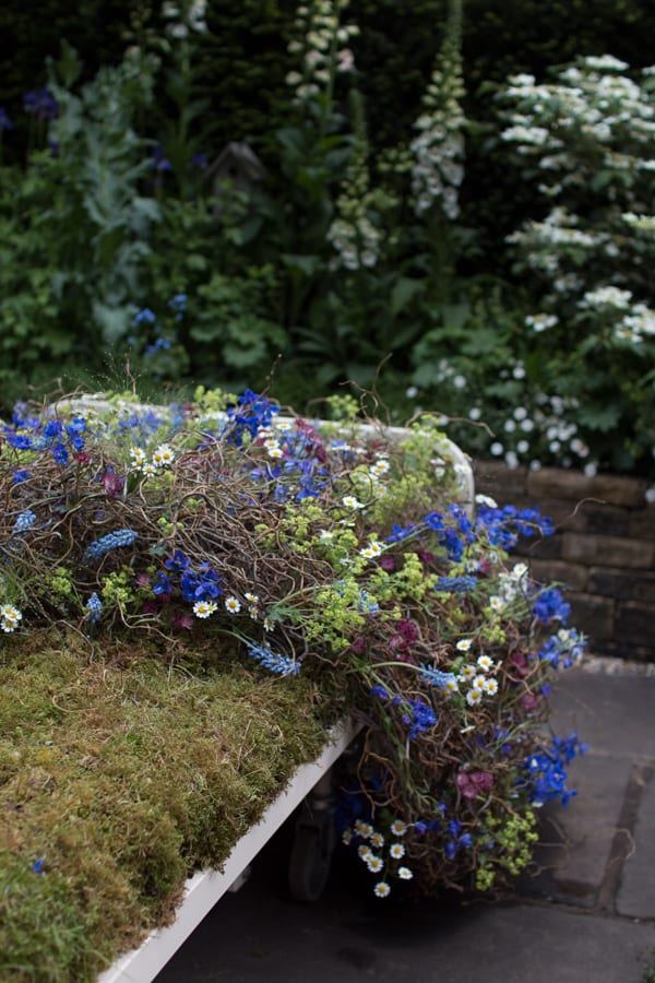 RHS Chelsea Flower Show 2016 The Garden Bed Asda Florist Alison Doxey Stephen Welch Artisan Garden Flowerona-10