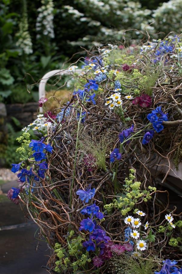RHS Chelsea Flower Show 2016 The Garden Bed Asda Florist Alison Doxey Stephen Welch Artisan Garden Flowerona-13
