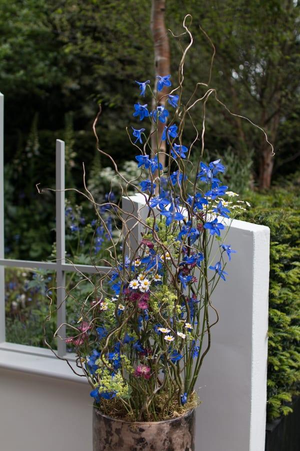 RHS Chelsea Flower Show 2016 The Garden Bed Asda Florist Alison Doxey Stephen Welch Artisan Garden Flowerona-4
