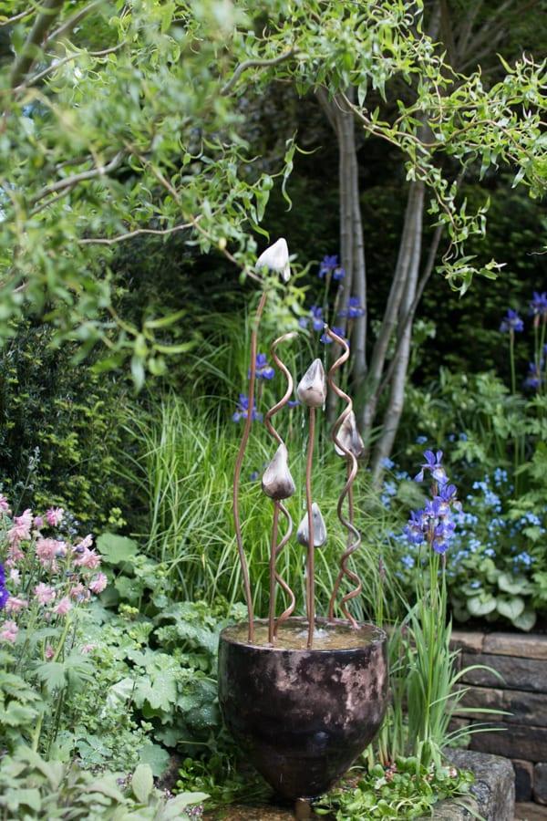 RHS Chelsea Flower Show 2016 The Garden Bed Asda Florist Alison Doxey Stephen Welch Artisan Garden Flowerona-5
