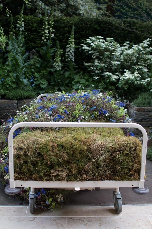 RHS Chelsea Flower Show 2016 The Garden Bed Asda Florist Alison Doxey Stephen Welch Artisan Garden Flowerona-9