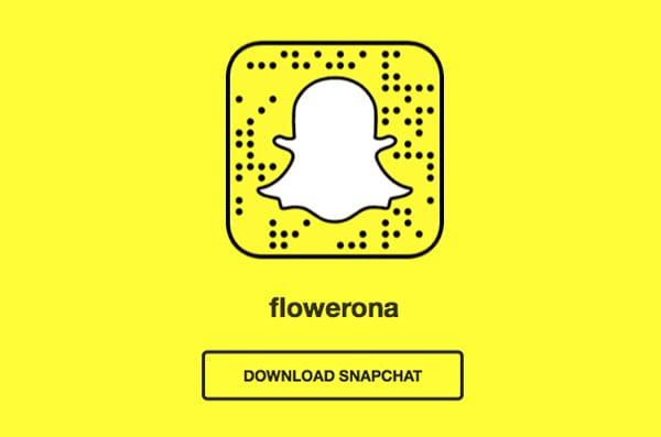 Snapchat-Flowerona