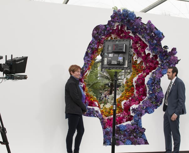 Flowerona Video : New Covent Garden Flower Market's Exhibit at the RHS Chelsea Flower Show 2016