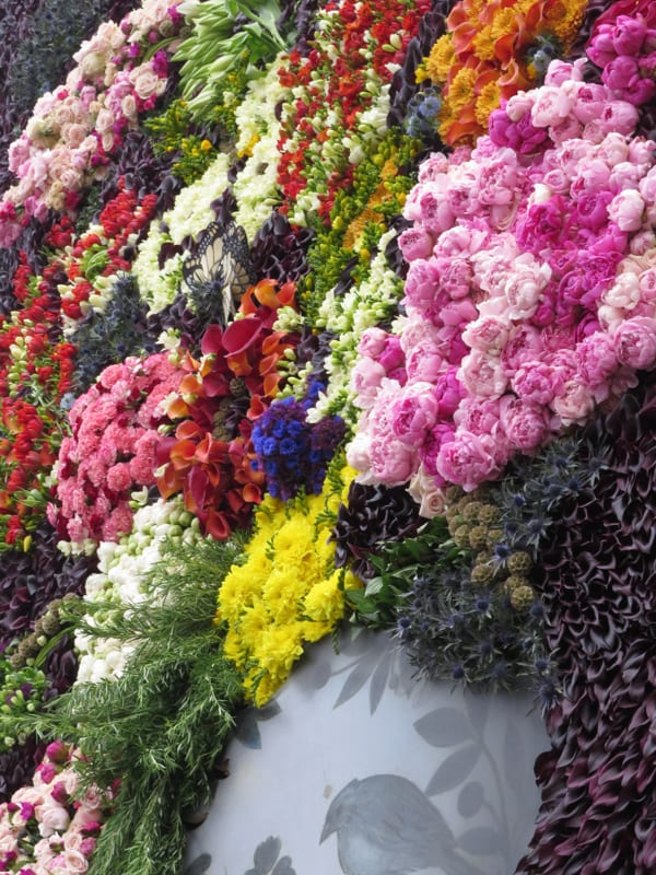 The Flower Council of Holland Funny How Flowers Do That Dutch Flowers Installation Trafalgar Square London 2016 Flowerona-14