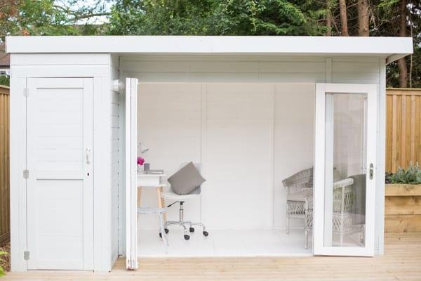 White & Grey Garden Office Flowerona-9