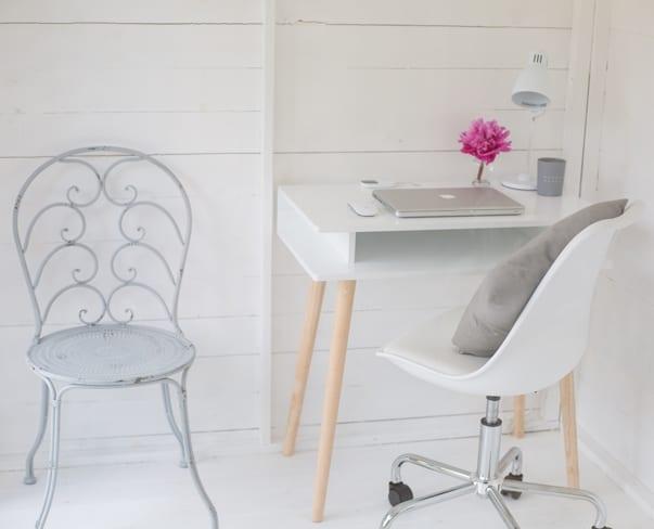 A little peek inside Flowerona's Garden Office…