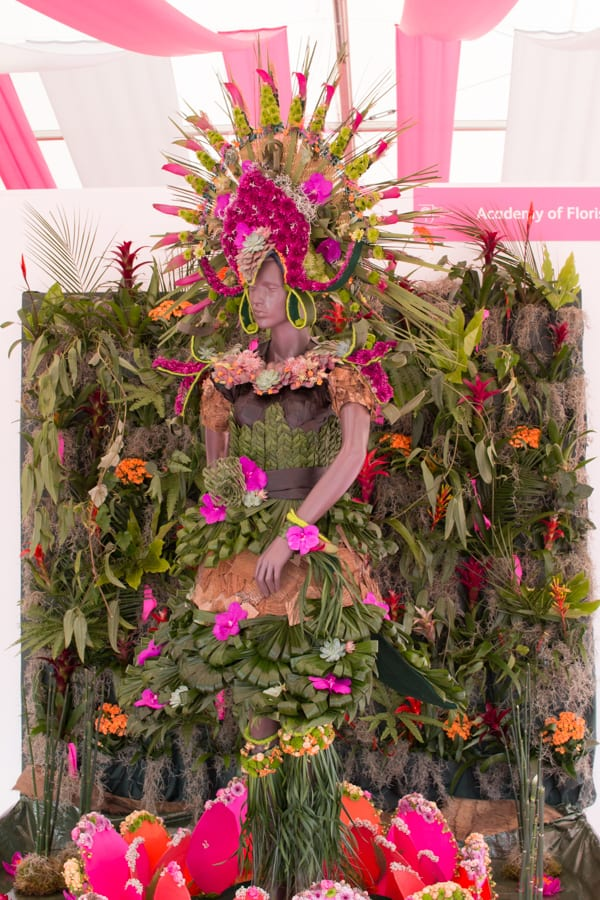 RHS Hampton Court Palace Flower Show 2016 Academy of Floristry Flowerona-1