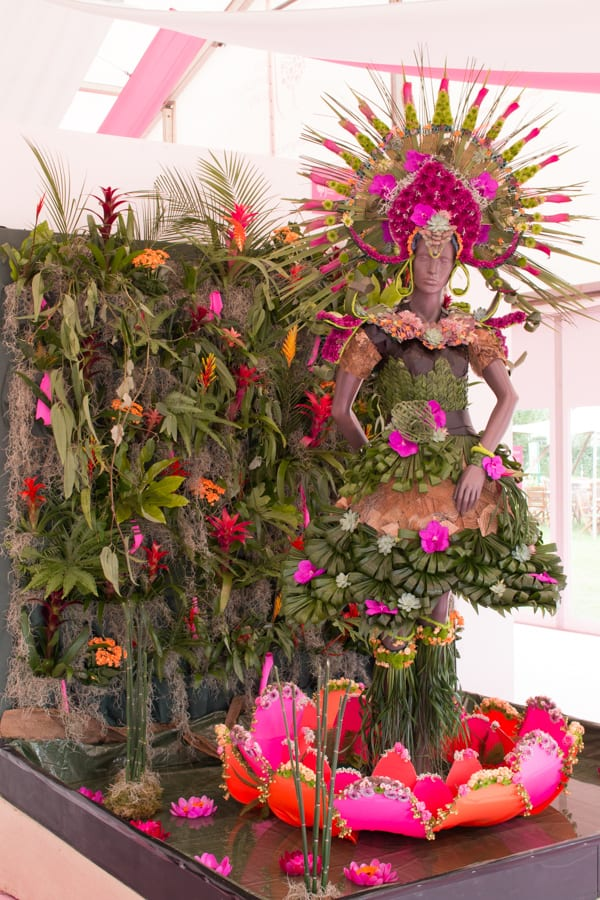 RHS Hampton Court Palace Flower Show 2016 Academy of Floristry Flowerona-2