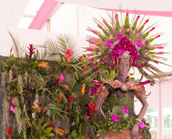 RHS Hampton Court Palace Flower Show 2016 | Academy of Floristry