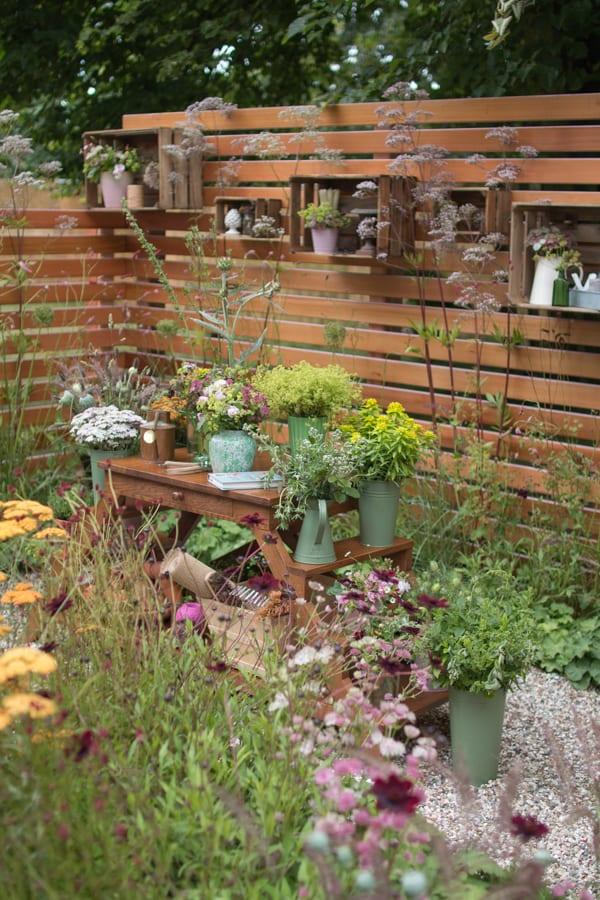 RHS Hampton Court Palace Flower Show 2016 Katie's Garden Katie's Lymphoedema Fund Flowerona 1-1
