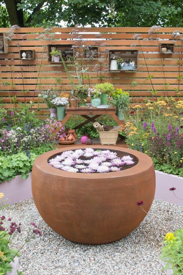 RHS Hampton Court Palace Flower Show 2016 Katie's Garden Katie's Lymphoedema Fund Flowerona 1-12