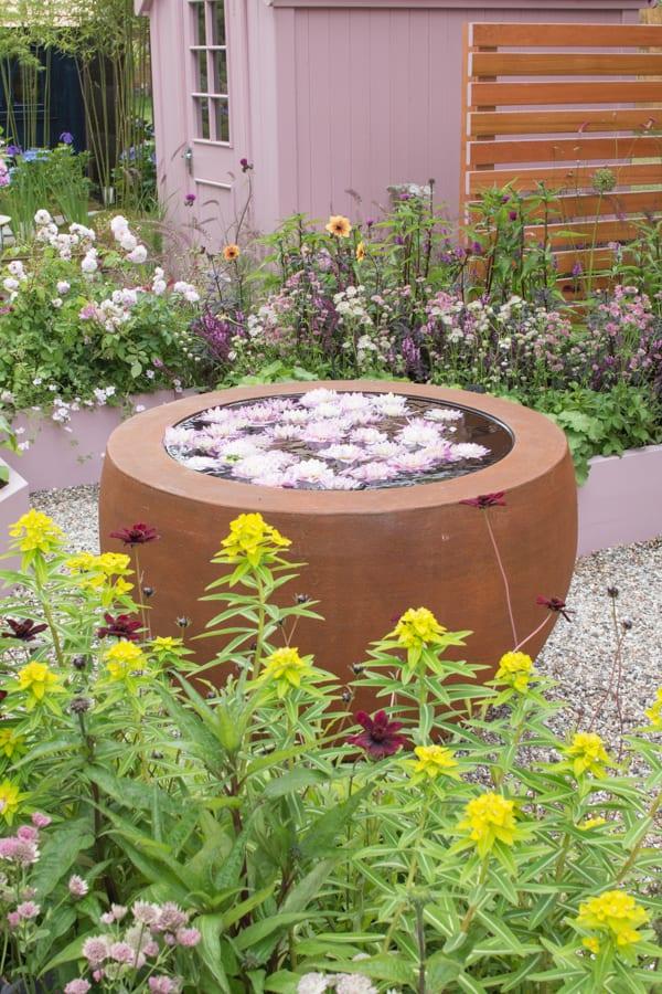 RHS Hampton Court Palace Flower Show 2016 Katie's Garden Katie's Lymphoedema Fund Flowerona 1-13