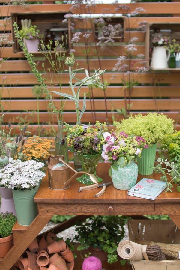RHS Hampton Court Palace Flower Show 2016 Katie's Garden Katie's Lymphoedema Fund Flowerona 1-7
