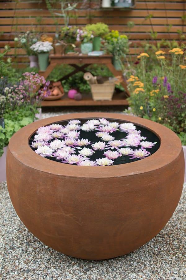 RHS Hampton Court Palace Flower Show 2016 Katie's Garden Katie's Lymphoedema Fund Flowerona 1-8