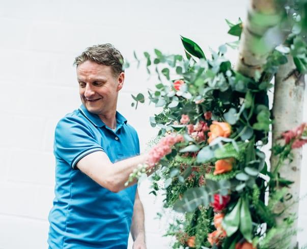 Wedding Wednesday : Flower School Glasgow – Large Structures Course   Part 2