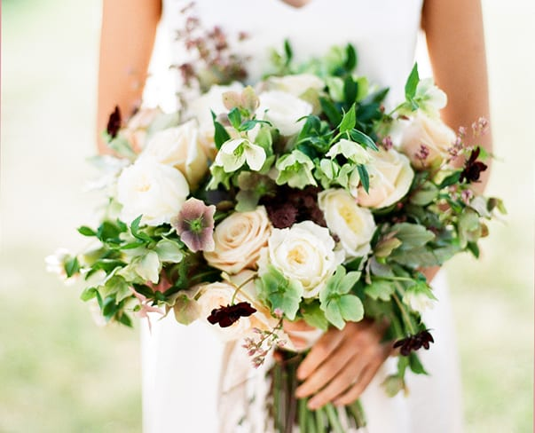 Wedding Wednesday : 5 Beautiful Bridal Bouquets featuring Chocolate Cosmos