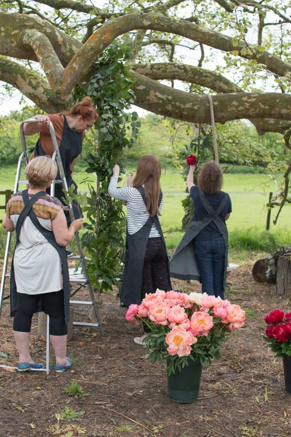 Tallulah Rose Wedding Flower Course Retreat Rona Wheeldon Flowerona-24