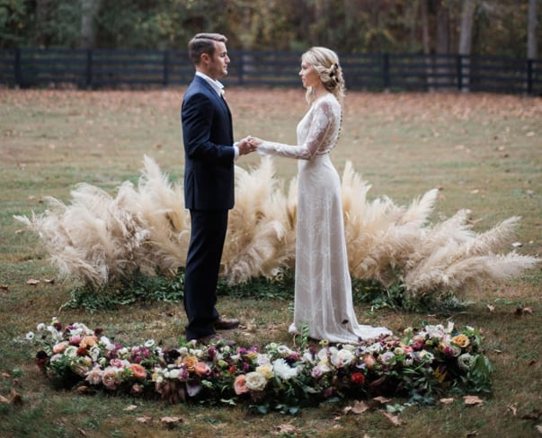 Wedding Wednesday : On Trend – Pampas Grass