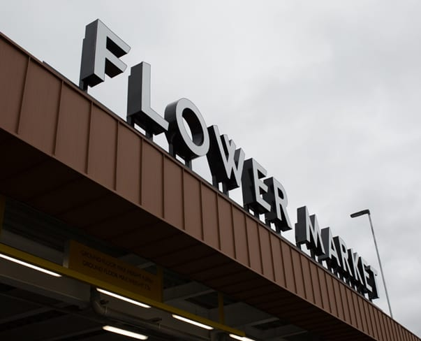 The Brand New Flower Market at New Covent Garden Market | Opening April 3rd 2017