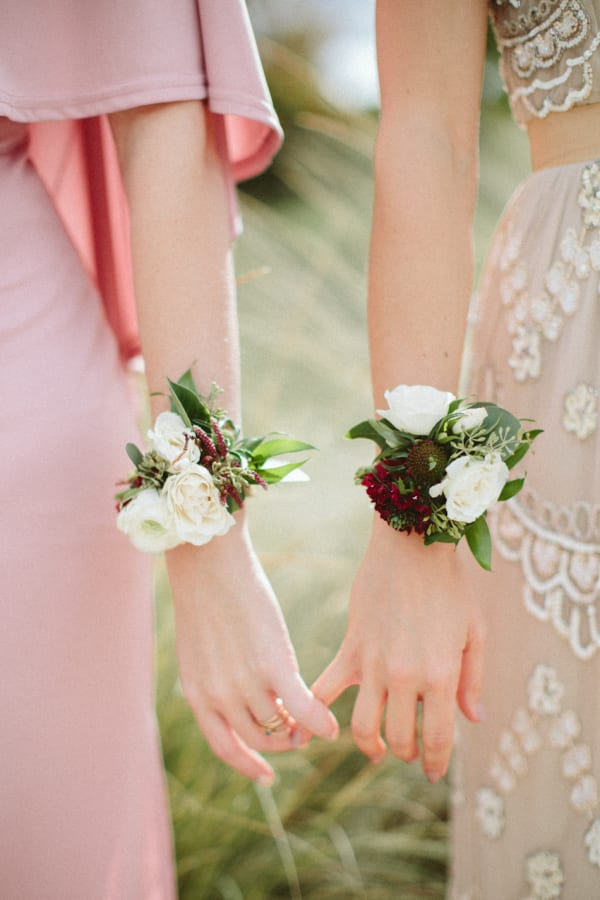 Posies Floral Paige Jones Photography Style Me Pretty Wrist Corsage