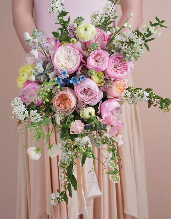 12 breath taking bridal bouquets featuring david austin