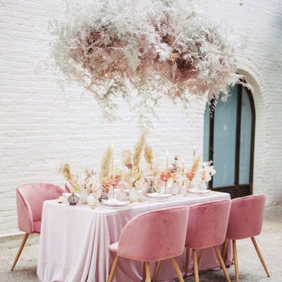 The Flowerona List | With Christmas decor, celebrity weddings & a cloud installation…