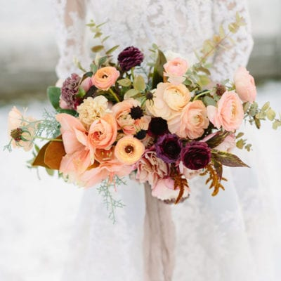 Floristry Industry Insight – Featuring a magical winter wedding
