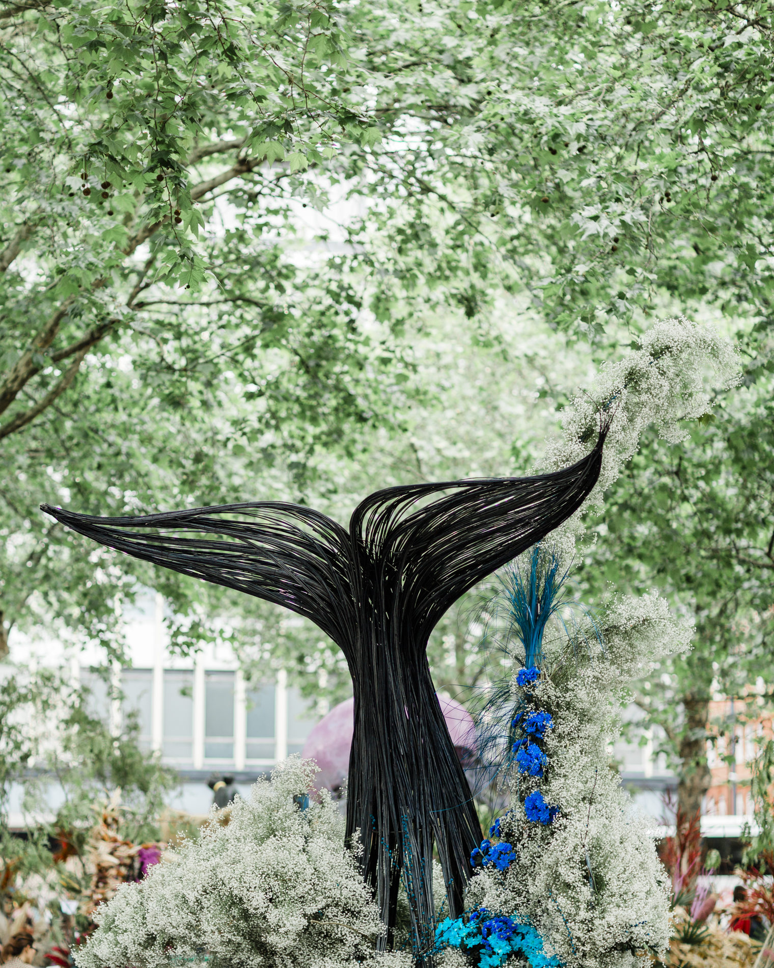 All for Love Floral Installation at Chelsea in Bloom 2019