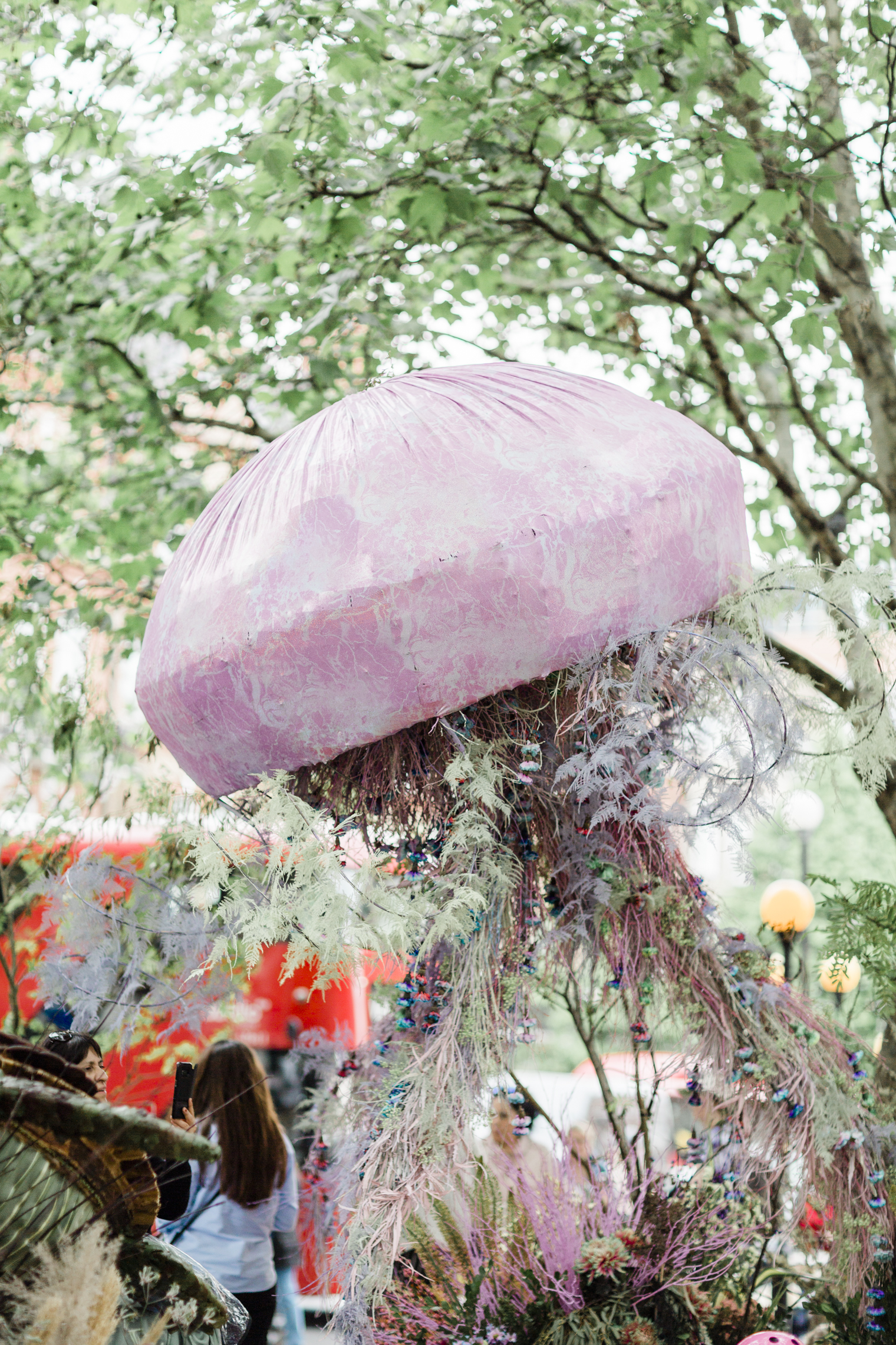 Jellyfish by All for Love London for Chelsea in Bloom 2019