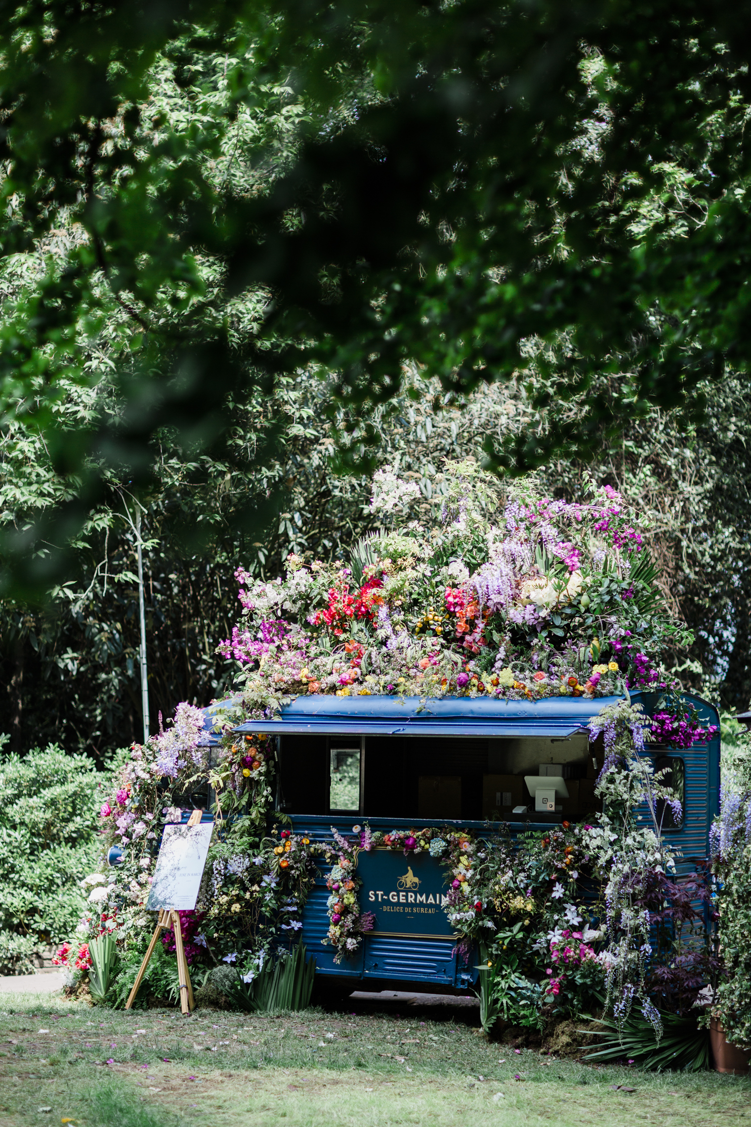 St Germain Truck at RHS Chelsea Flower Show 2019