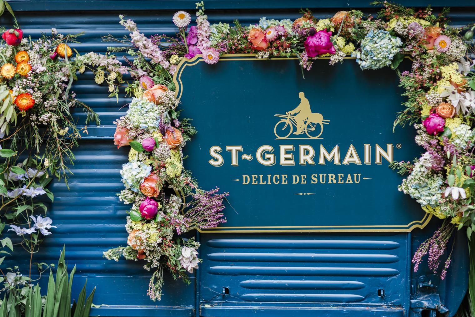 St Germain Truck at RHS Chelsea Flower Show 2019