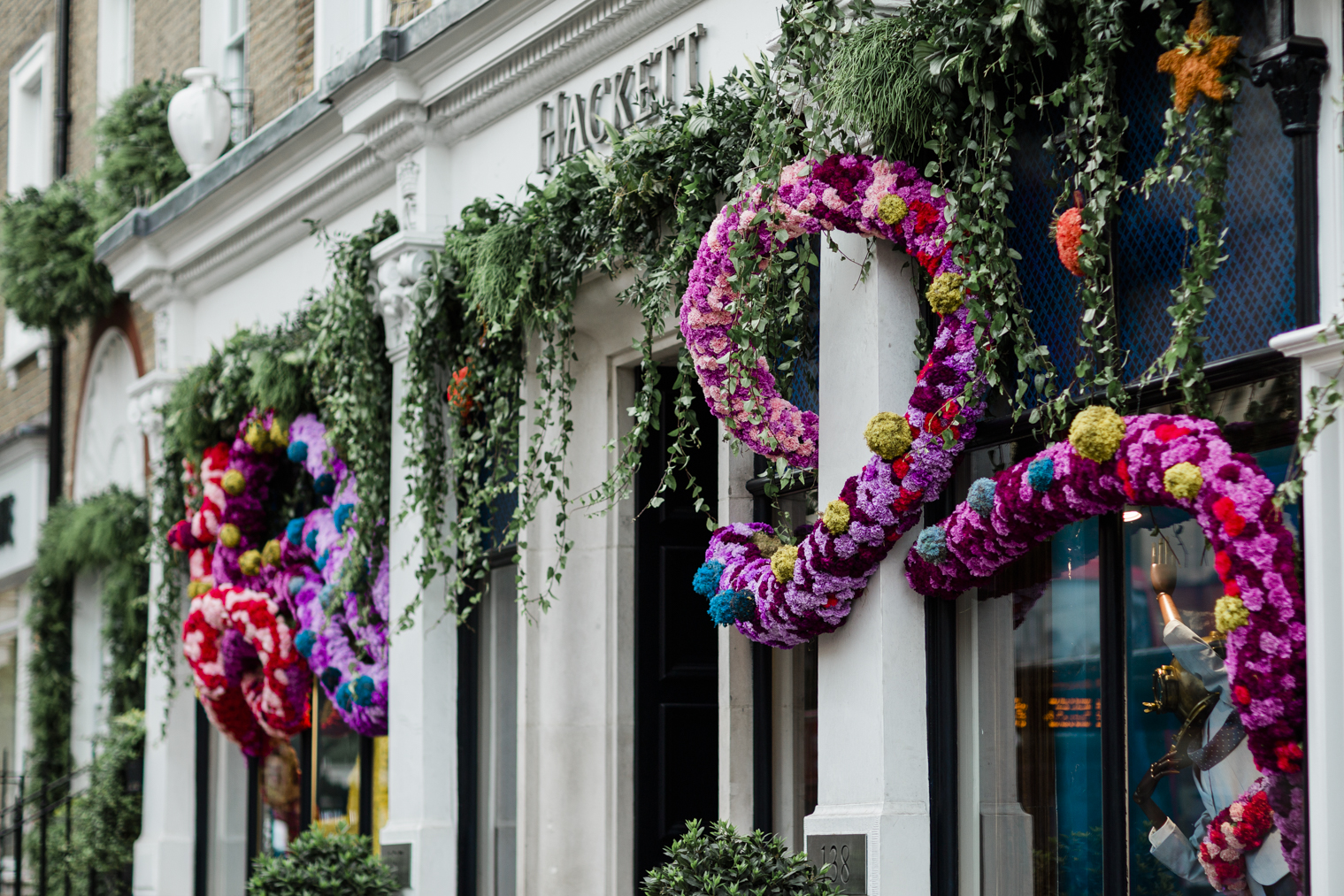 Wildabout for Hackett - Chelsea in Bloom