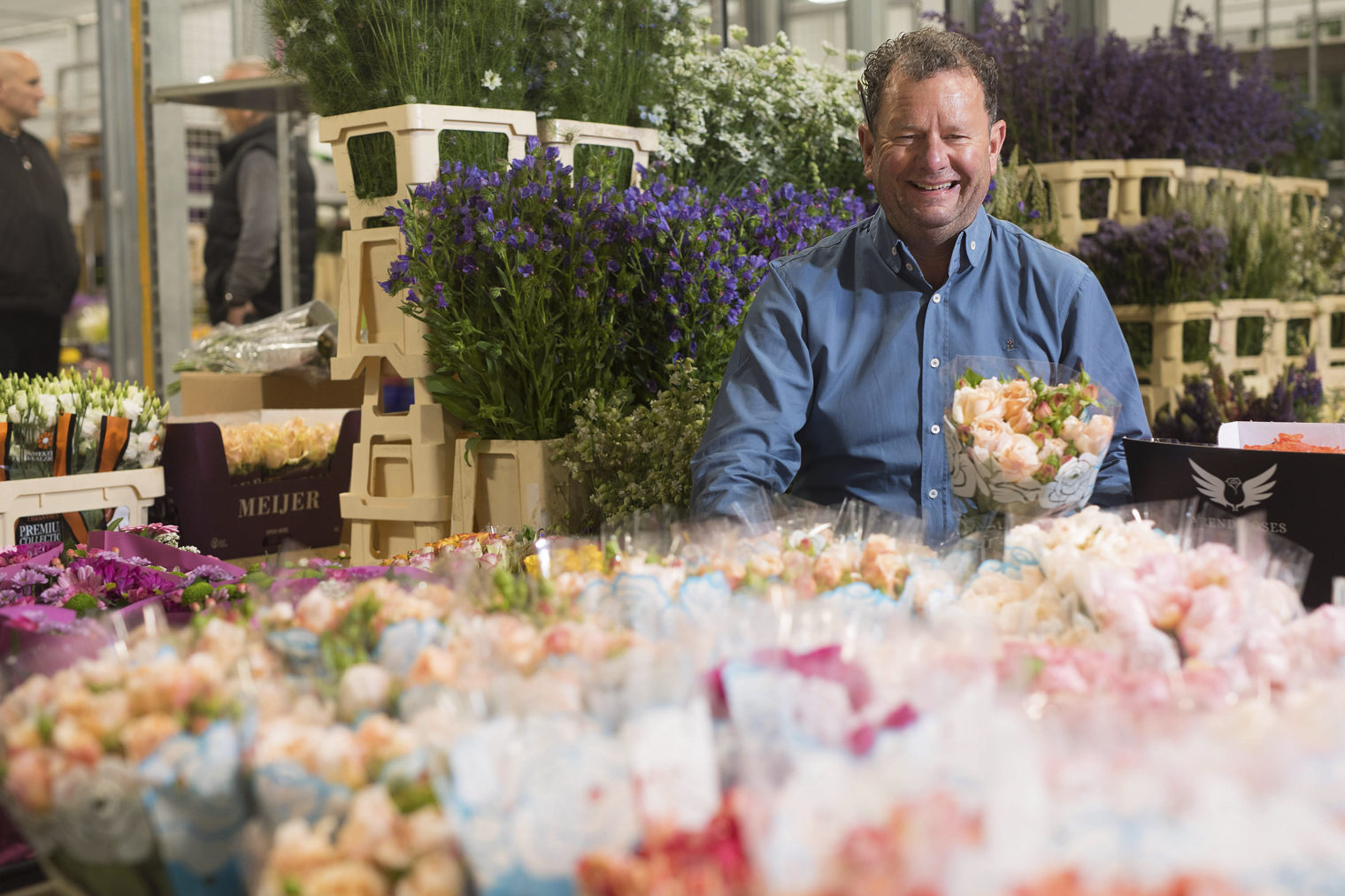 Graeme at Zest Flowers