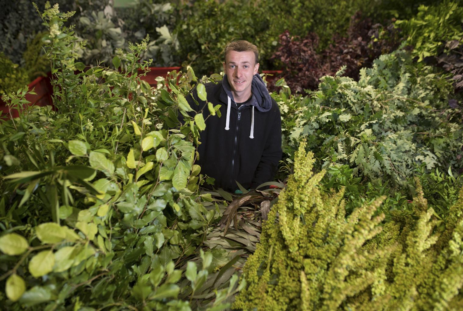Zak at GB Foliage