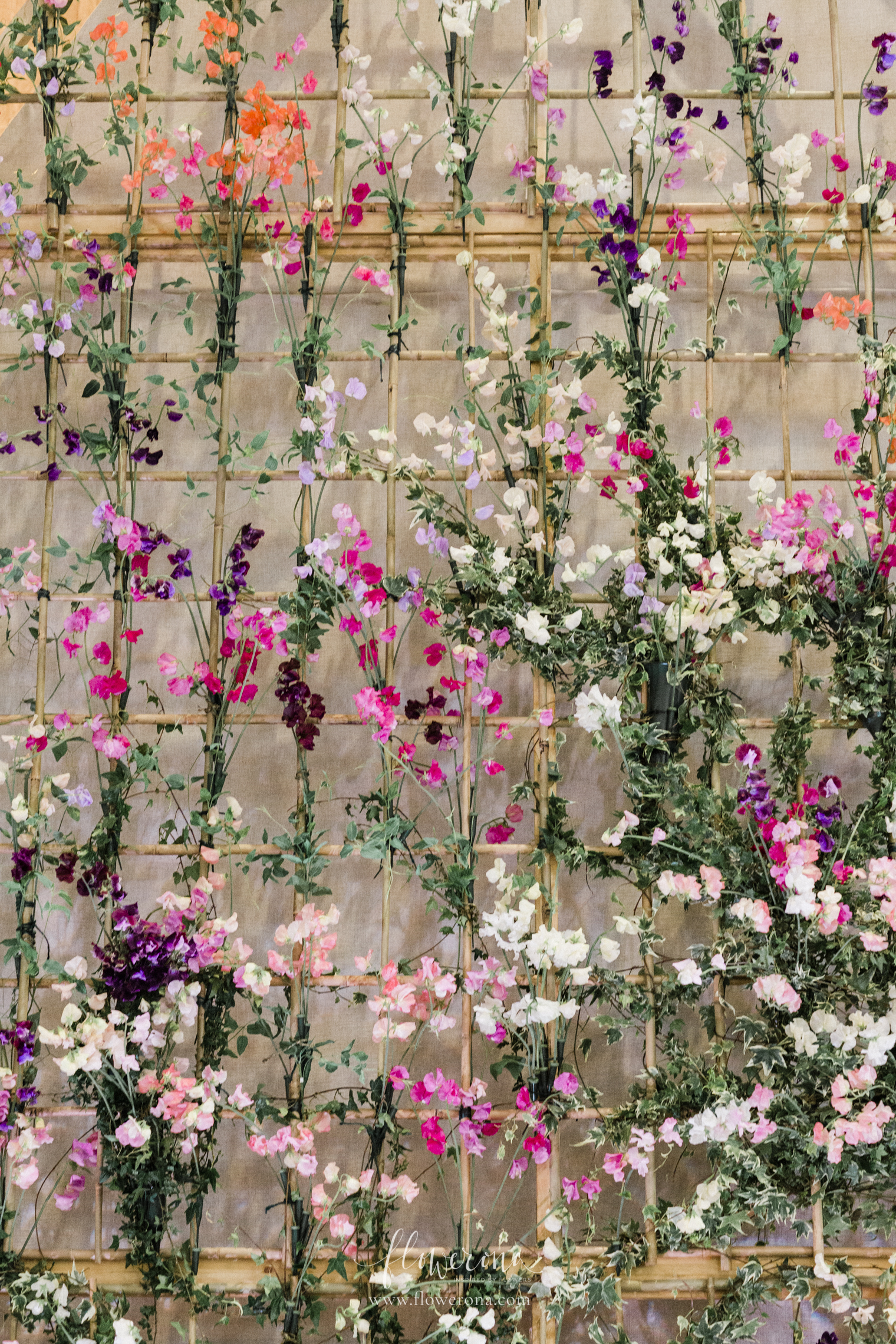 All for Love's Installation for British Flowers Week 2019 at the Garden Museum